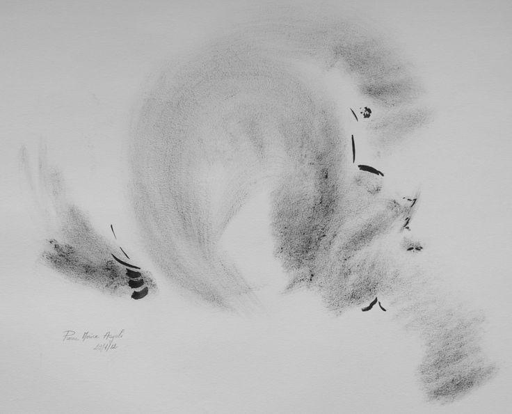 dsc04528.jpg - Rysunek,  85x50 cm ©2014 przez Pierre MORICE -                                                            Sztuka abstrakcyjna, Papier, Sztuka abstrakcyjna, abstraction