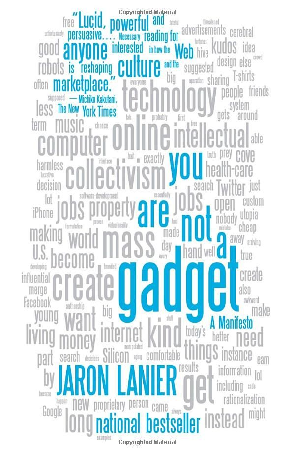 15 best the art of the start 20 book reviews images on pinterest kevan grabbed you are not a gadget ebook jaron lanier kindle store fandeluxe Image collections