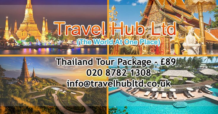 Plan your holiday tour at Thailand (Bangkok + Pattaya) checkout our latest updated Thailand tour packages.  Call us for details of the #Holidaypackages : 02087821308 To Book #TourPackages Email at info@travelhubltd.co.uk  http://www.travelhubltd.co.uk/thailand-tour-package/  #thailand #bangkok #pattaya #coral #island #temple #city #cruise #world #phiphi #thailandtour #bangkokpackages #pattayatrip #thailandpackages #friends