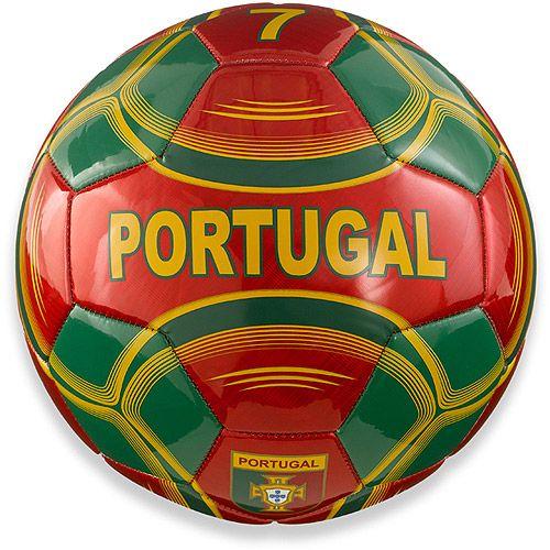 Portugal Soccer Ball, Size 5: Team Sports : Walmart.com