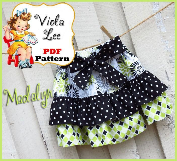 (9) Name: 'Sewing : Madalyn Twirl Skirt Pattern