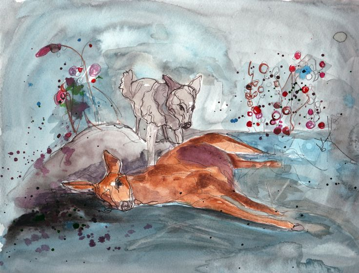 No More Dreaming Like a Girl  4 by SarahEmersonArt on Etsy, $250.00
