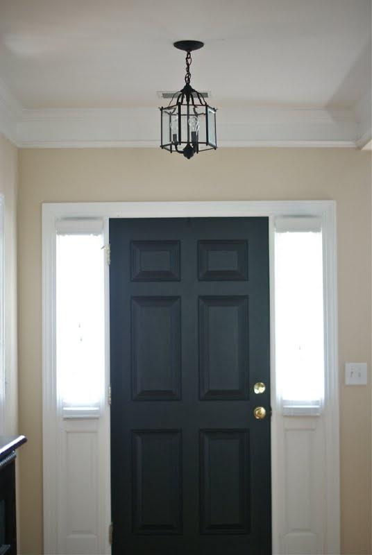 Hmmm Paint Inside Of Front Door Black I D Paint The