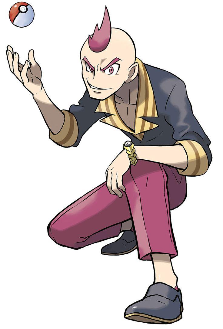 Sidney - Characters & Art - Pokémon Omega Ruby and Alpha Sapphire