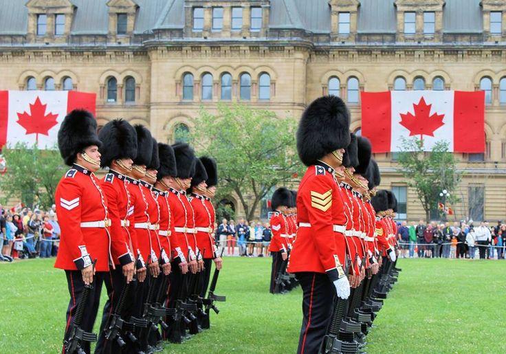 Canadian Ceremonial Guard - Guard Mount 2015