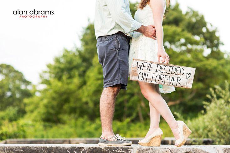Our engagement photoshoot in Massapequa Preserve!