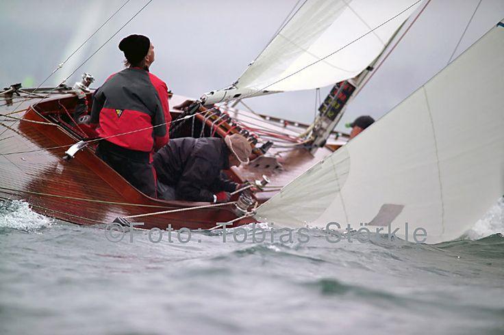 Klassische Yachten vom Bodensee - 30er beim Peri-Cup auf dem Bodensee