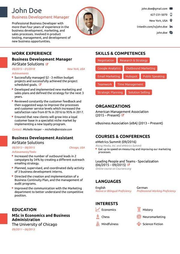 Resume Builder For 2020 Free Resume Builder Novorsum