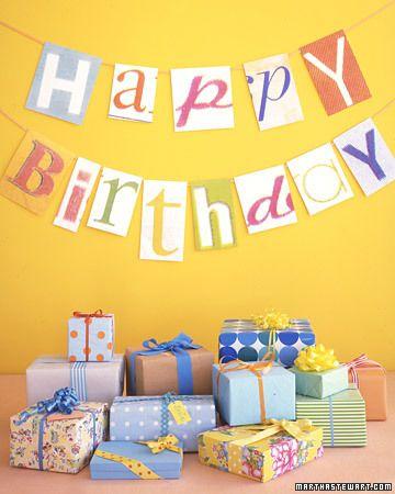 DIY Birthday DecorKids Parties, Happy Birthday, Birthday Banners, Birthday Parties, Parties Ideas, Cut Out, Birthday Decor, Birthday Ideas, Parties Decor
