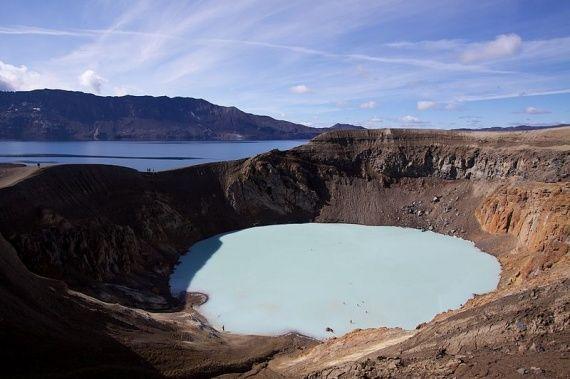 Λίμνη Askjia - Ισλανδία