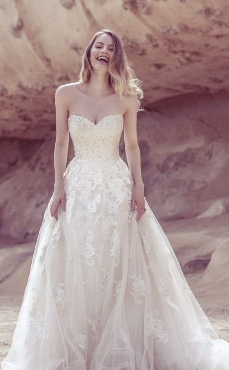 Wedding Dress: Ellis Bridals