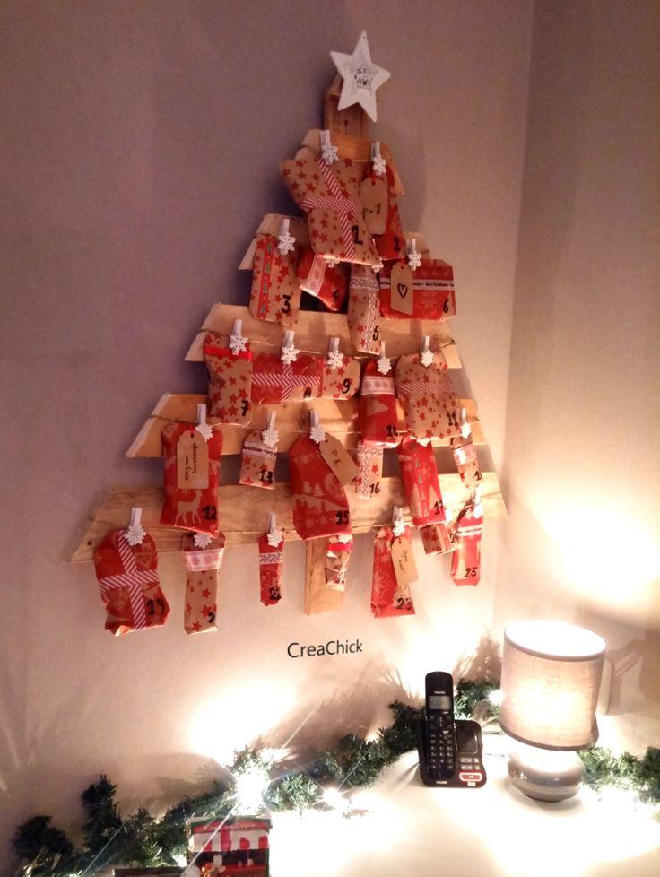 DIY advent calendar. Maak je eigen adventskalender.