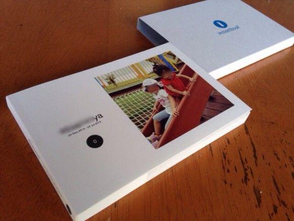 Instagramユーザー向け。写真を1枚選ぶだけで作れるフォトブック「instantbook(インスタントブック)」│コドモノ!
