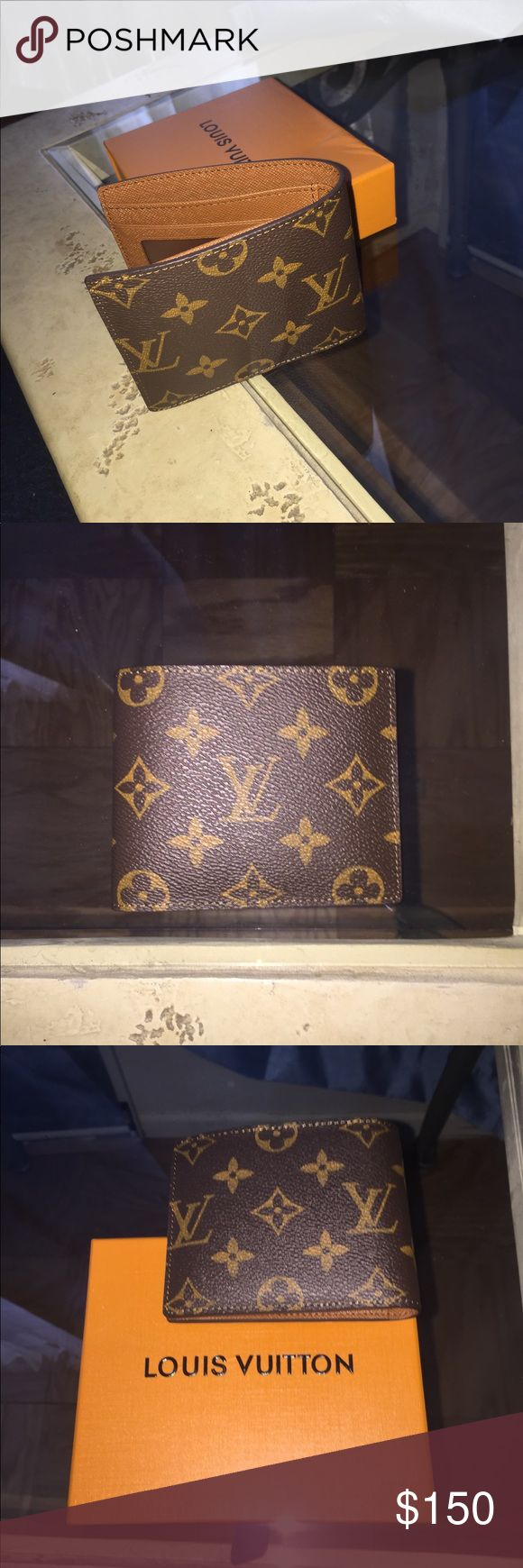 Brand New Louis Vuitton Mens Wallet Hello this is a brand new louis vuitton mens wallet. Im selling for the best deals on this platform, i have the fastest shipping and have sold many products on here because i always provide the best deals. If interested please leave your number in the comments and i will get back to you immediately! I always provide the best customer service and i am welcome to negotiating any reasonable prices necessary. Serious professional people only please, have a…