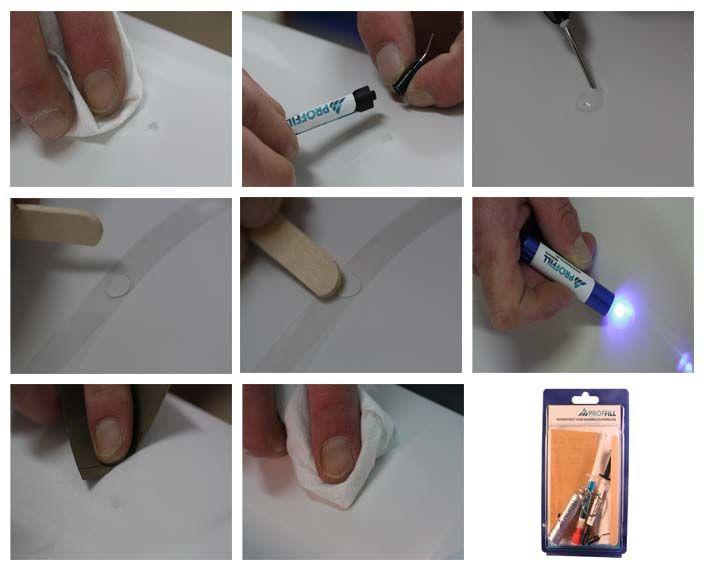 Beschadigde tegel? Proffill 1 gram set keramiek en porselein is de Proffill reparatie set voor de reparatie van splinters, diepe krassen, putjes en inkepingen. Te gebruiken op wastafel, toilet, wand- en vloertegel.     http://www.beltraco.nl/proffill-products/keramiek-porselein/stk1xx-reparatieset-keramiek-en-porselein-1-gram.htm