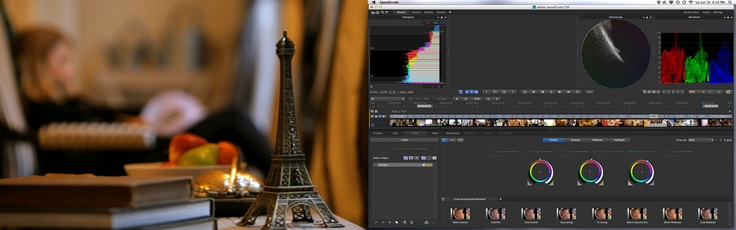 Getting started with Adobe SpeedGrade