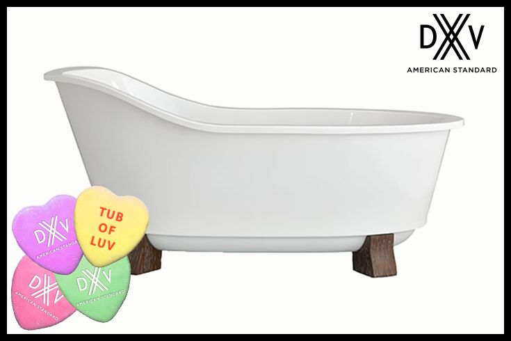 Win our Oak Hill freestanding soaking tub!  Pin this pin for your chance to win! It's that simple. Good luck!