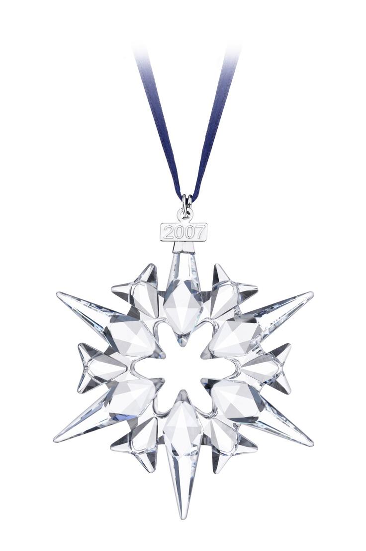 Swarovski Christmas Ornament 2011 2007  Star