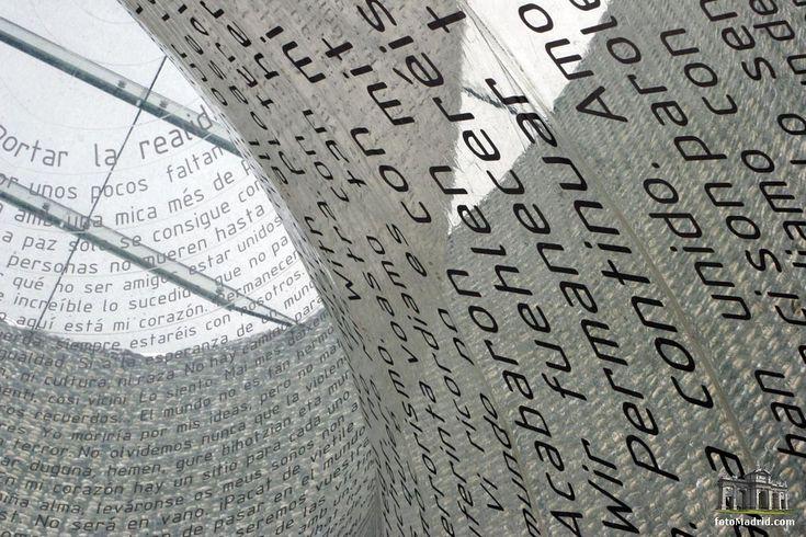 Monumento a las víctimas del 11-M, Atocha, Madrid _estudio arquitectura FAM