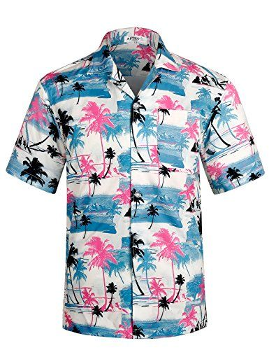 b5fd0722 Men's Hawaiian Shirt Short Sleeve Beach Floral Shirt | Hawaiian ...