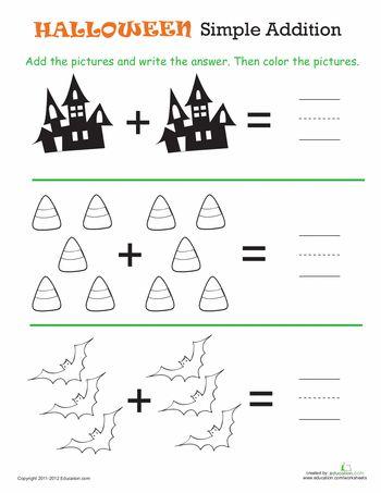 best 25 simple addition ideas on pinterest addition activities kindergarten addition and. Black Bedroom Furniture Sets. Home Design Ideas