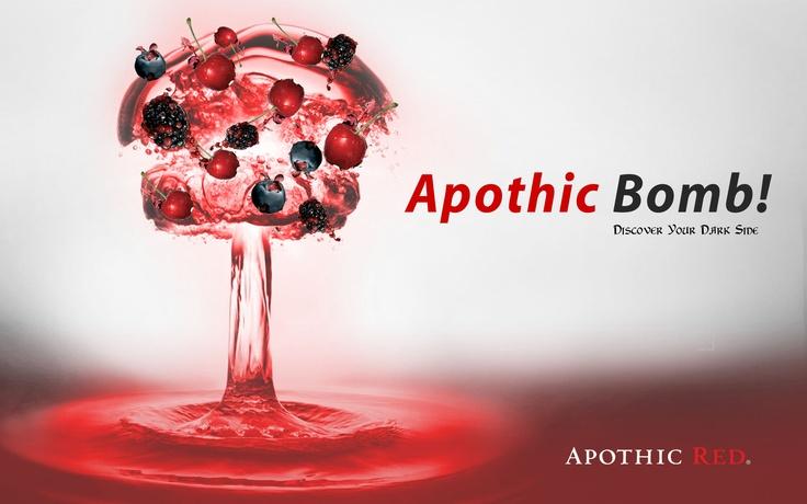 Fruit bomb wine! Apothic red.