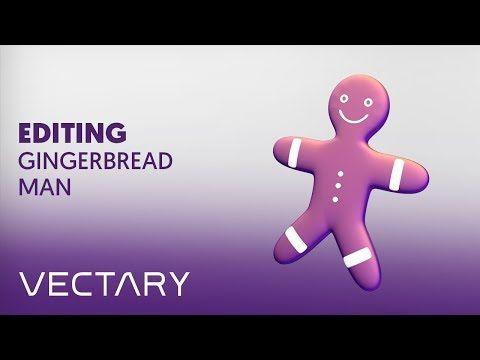 VECTARY x MyMiniFactory Xmas challenge - Editing gingerbread man template - YouTube    #christmas #decoration #christmasdecor #ChristmasTree #howto #voronoi #decor #christmastime
