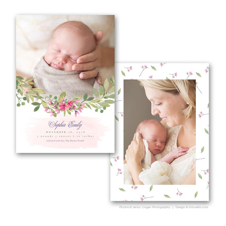 35 best Birth Announcement Templates images on Pinterest Birth - birth announcement template