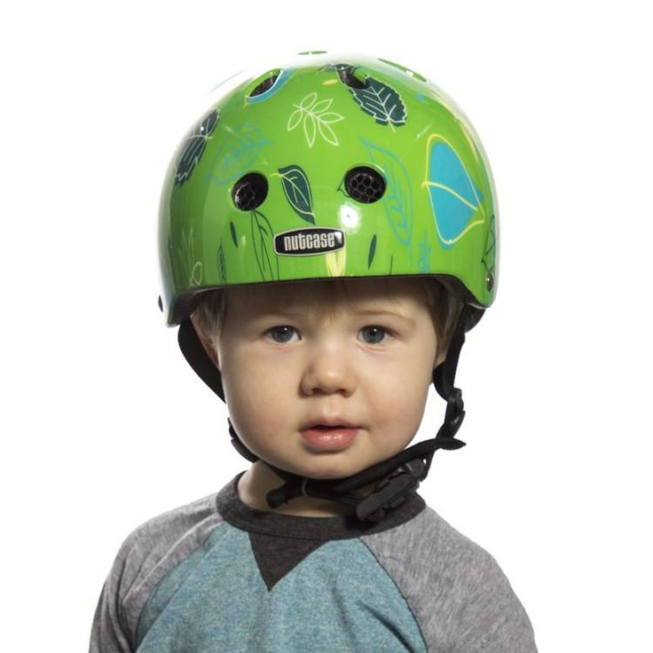 Nutcase Baby Nutty is a stylish, lightweight baby bike helmet for kids one year and older that is tested for safety and high impact protection.