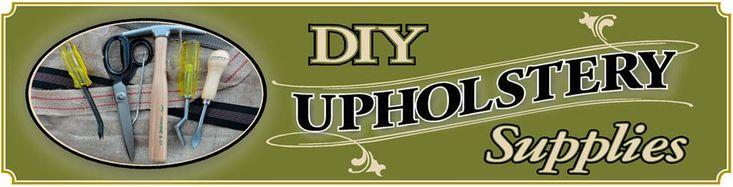 DIY Upholstery Supplies