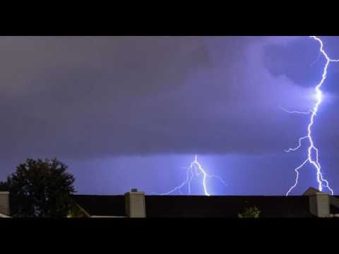 Massive Thunderstorm Sounds 3 Hours Loud Booming Thunder With Soothing R...