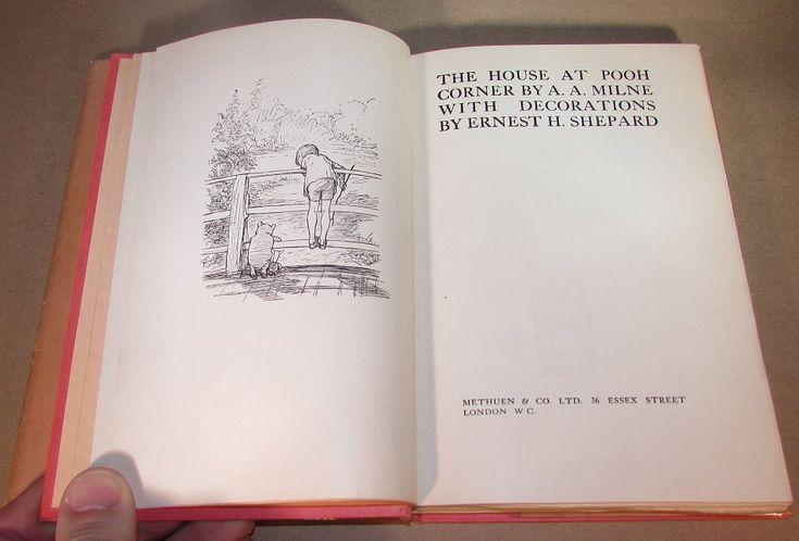 David Mason Books - e-List #42 inside  The House at Pooh Corner first edition 1928