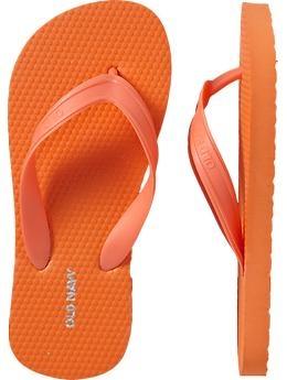 Color Naranja - Orange!!! Flip Flops