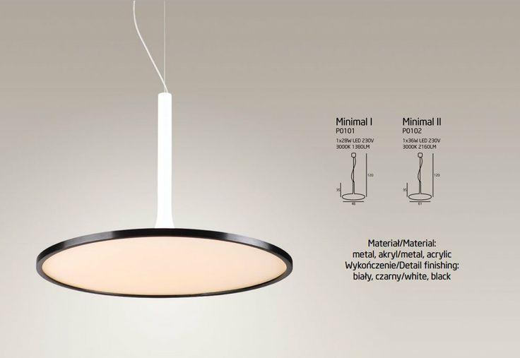 Lampa LED minimal