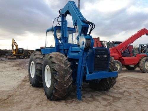 Ford County 1184 Forestry Tractor 4wd With Crane   Cool ...