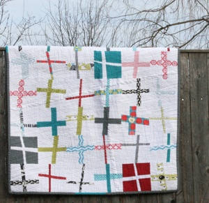 crosses: Quilt Inspiration, Baby Taali, Wonky Cross, Quilting Idea, Cross Quilts, More Quilt, Improv Quilts