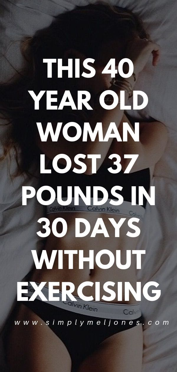 This 40 year old woman lost 37 pounds in 30 days by following this odd carb tric… – Weight Loss