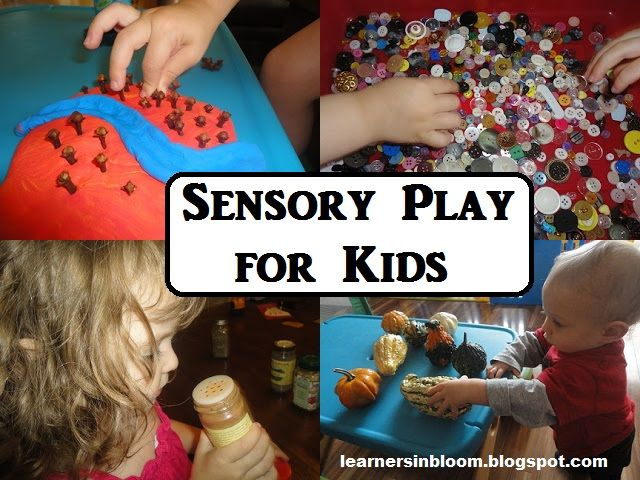 Sensory Play for Kids from Learners in Bloom