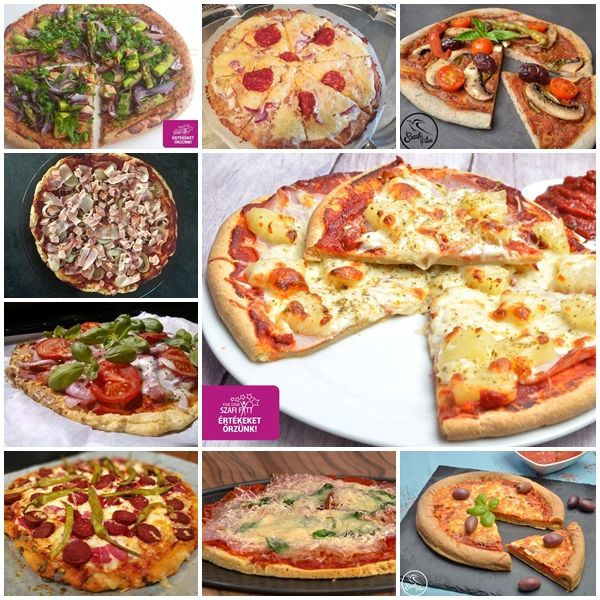 TOP 10 PIZZA RECEPT A BLOGON