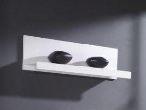 SAMBA CAMA shelf. SAMBA CAMA SHELF is made of a plate having a thickness of 16 mm. It is available in white matt finish. Polish Cama Modern Furniture Store in London, United Kingdom #furniture #polish #cama #shelves #panels