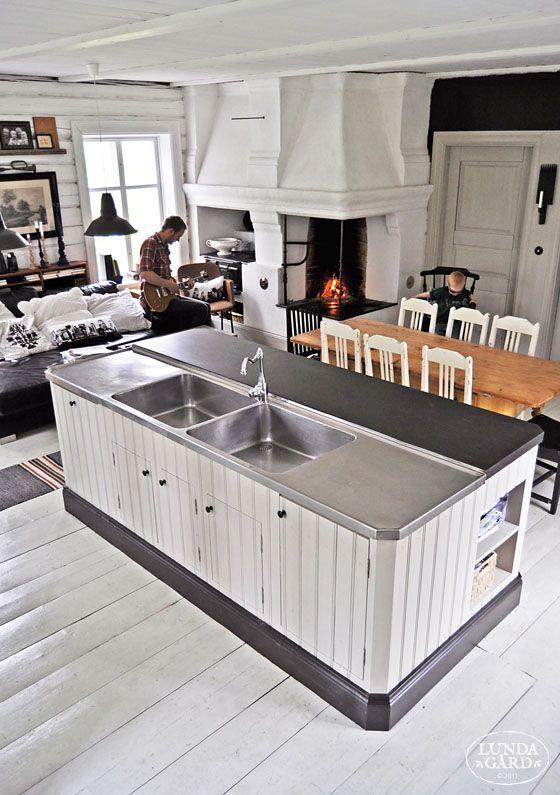 L U N D A G Å R D   inredning, familjeliv, byggnadsvård, lantliv, vintage, färg & form: Kök