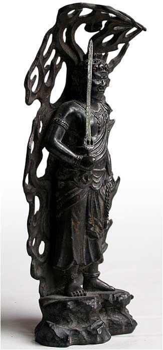 FUDOO MYOO | Bronze Angry Buddha Fudo Myoo