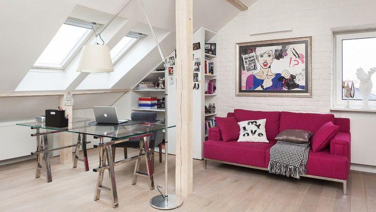 piękny pokój nastolatki na strychu - Szukaj w Google