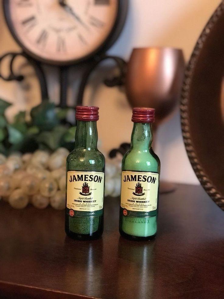 Jameson Liquor Bottle Salt-And-Pepper Shaker Set  | eBay