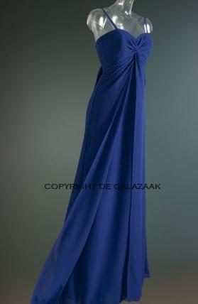 Avondjurk in blauw 2366
