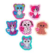 Ty Beanie Boos Erasers Set Of 6 For Aubree Pinterest
