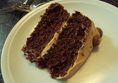 Chocolate malteser cake -- Nigella Lawson