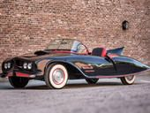 The Caped Crusader's car styled after the original Batman comics is going on the auction block. Own a piece of history starting at a mere $90,000. http://www.cnet.com/news/holy-auction-batman-historic-batmobile-is-up-for-sale/    Had to have this on my Pinterest. The style of this Batmobile is based more on that which appeared in 1940s and 1950s BatMan Comic Books. Sure is Sweet!