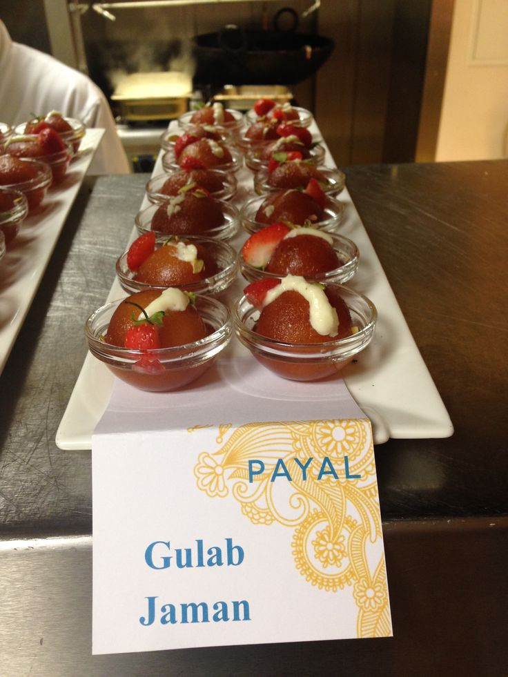 Our Tasty and Beautifully Presented Gulab Jaman