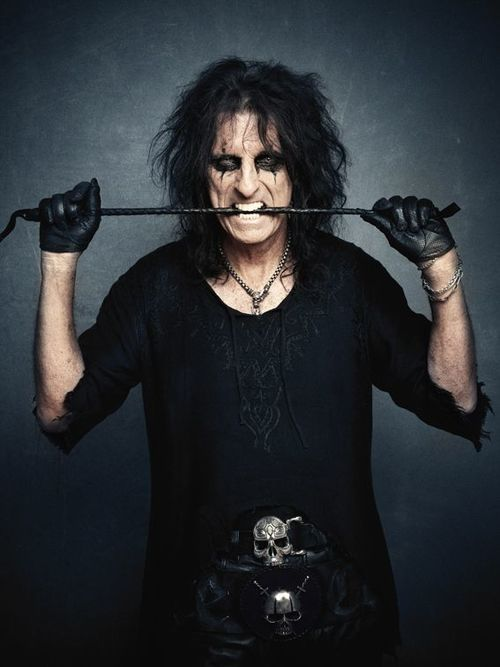 ¡Alice Cooper what a cutie!